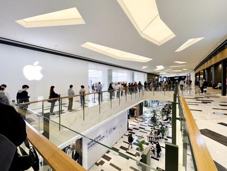 Photos: ouverture de l'Apple Store Yeouido à Séoul