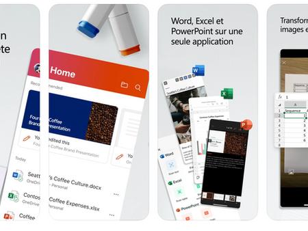 Version unifiée de Microsoft Office disponible sur iPad