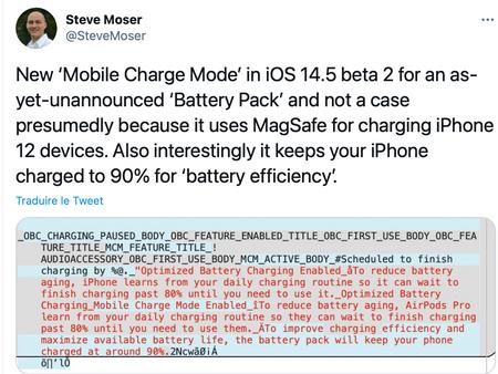 iOS 14.5 bêta 2: Apple prépare une batterie MagSafe pour les iPhone 12 ?
