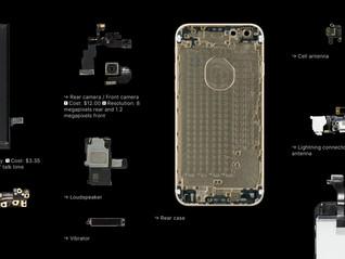 Apple va utiliser des composants internes plus petits afin d'augmenter la taille des batteries