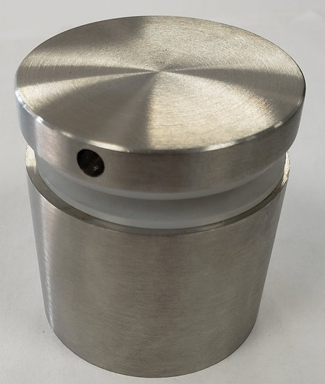 """ISO21CBS Brushed Stainless Standoff Base 2"""" X 1"""" SS316"""