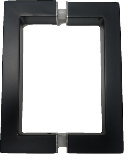 IGH6X6EDBM Matte Black Square Back To Back CTC 6`` Handle
