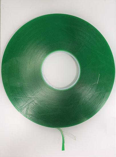 "IVC61014C Transparent 1/4"" Width 108' Acrylic Very Hi-Bond Adhesive Tape"