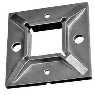 IBPSQC40 Square Base Flange For  40MM X 40MM SS304