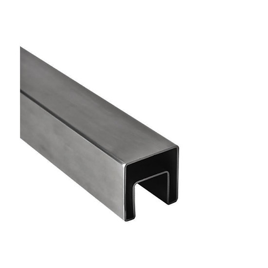IMINISGRCAP16S Mini Square Cap Rail 25mm x 21mm 19ft SS316