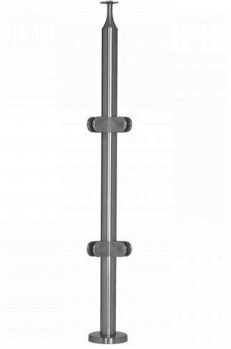 "IPR1.66S36C316 Round Stainless Steel 36"" Corner SS316"