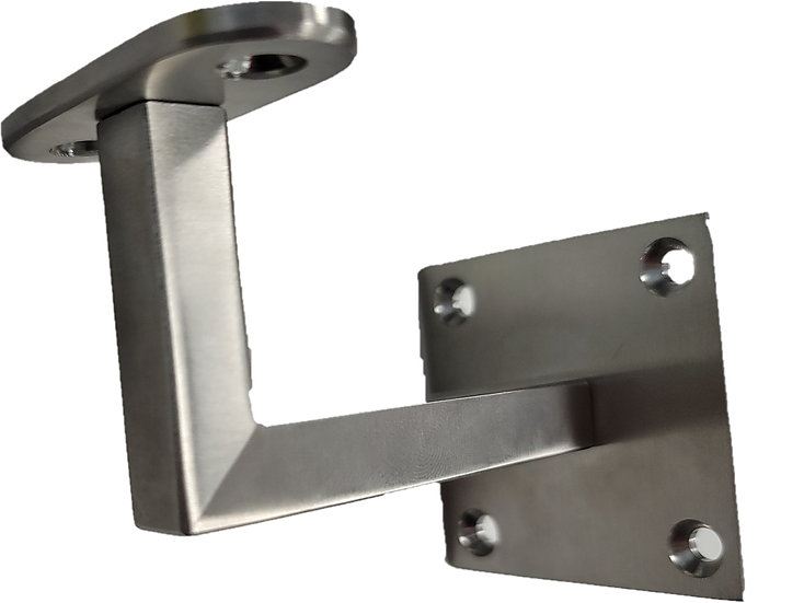 IWBSQ3X304F Square Wall Mounted Hand Rail Bracket SS304