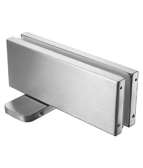 ICFH105BSS Bottom Hydraulic Door Closer Patch Heavy Duty (Out Door)