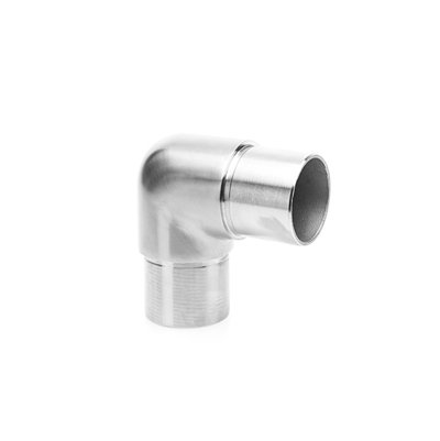IEBR424CP04S 90-Degree Round Elbow For 42.4mm Tube SS304