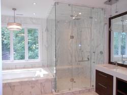 Shower Door 90 degree