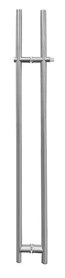 "IGHL5560X60BS Brushed Stainless 59-1/16"" Overall Ladder Style Handle With Lock"