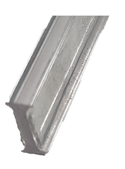 "IPSGTG10C Clear Strip for 180 Degree Glass-to-Glass Joints For 3/8"" Glass"