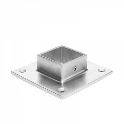 IBPSQC4004SNC  SquareBase Flange (No Cover) For  40MM X 40MM SS304