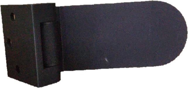 ISH1WAYBL Matte Black Wall To Glass Door Hinge
