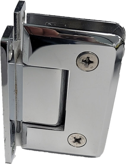 H-ISHP11CP Chrome Beveled Wall To Glass Hinge (H Plate)