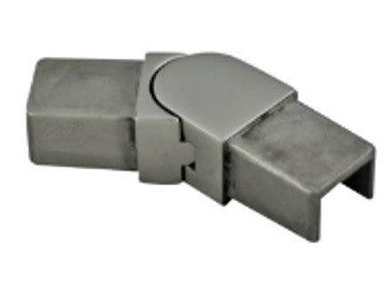 IEBADJ4040S16 Adj. Elbow Elbow Horizontal Mini Caprail for 25x21 Tube SS316