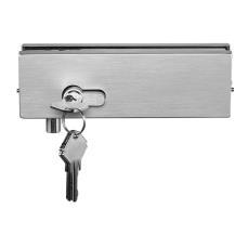 IPL1BBSS Brushed Stainless Corner Lock For 10-12mm Glass