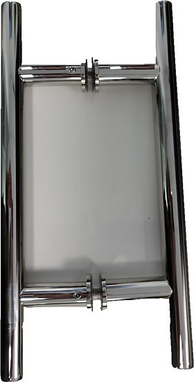 "IGHS556X6BSS Brushed Stainless CTC 6"" Shower Ladder Pull Overall 10"""
