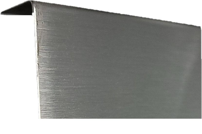 ISHOECLADBS Brushed Stainless Base Shoe Cladding 12ft
