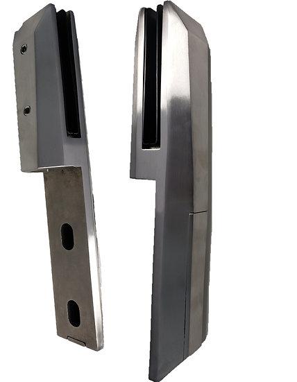"ISIDESPG2205S Square Surface Mount Spigot SS2205 For 3/8""-1/2"" Glass Tilt Lock"