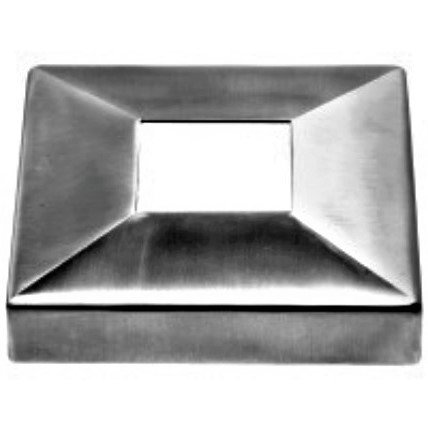 IBCSQ10516S Square Base Cover For 40MM X 40MM Tube SS316