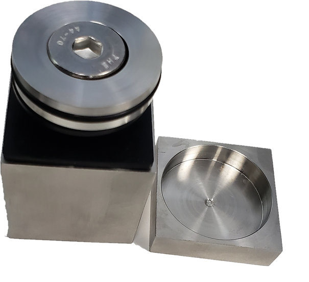 "ISOSQ22BS Brushed Stainless Square Standoff Base 2"" X 2"" SS316"
