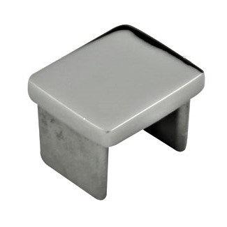 IEC2521SHRBS Mini Square Cap Rail End Cap For 25mm x 21mm SS316