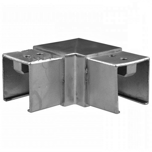 IEBH90CAPSQ40S 90-Degree Square Cap Rail Connetor 40 x 40mm HANDRAIL SS304