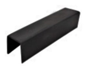 IGMNCAP12MM Rubber Gasket For Mini Square Cap Rail 25mm x 21mm 19ft