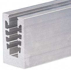 "Aluminum 110-1/2""  Square Base Shoe Drilled Holes"