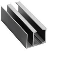 ISLHAWAB3Track Anodized Track For Door & Panel 10ft