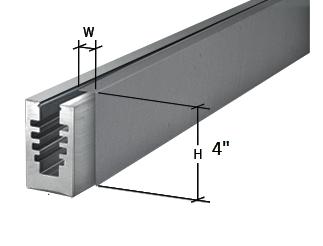 ISHOECLADBSS Aluminum Base Shoe Cladding 10ft