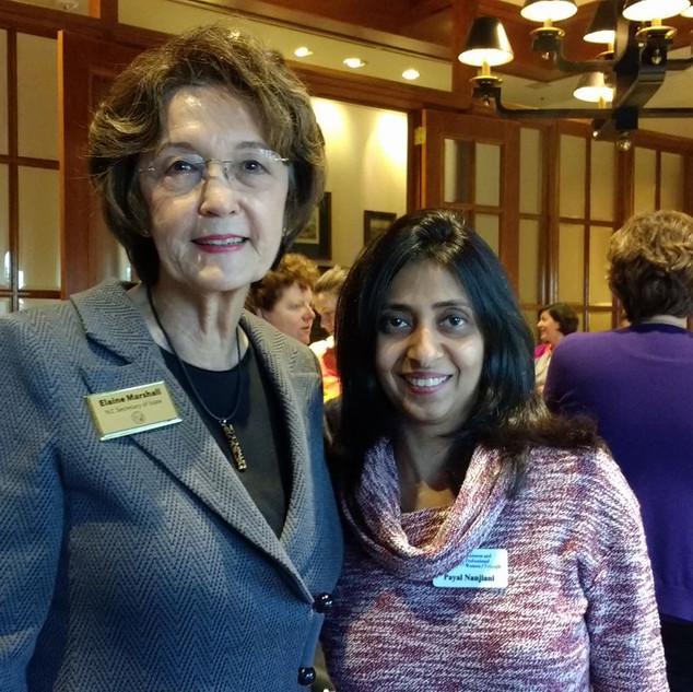 Leadership with Elaine Marshall- Secretary of State