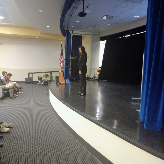 Speaking at The Youth of America Conference
