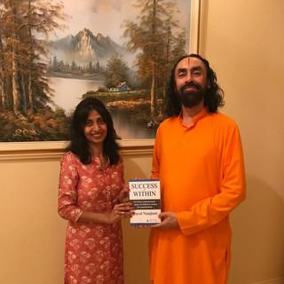 Partnering for Leadership program with world renowned Spiritual Guru- Swami Mukundananda