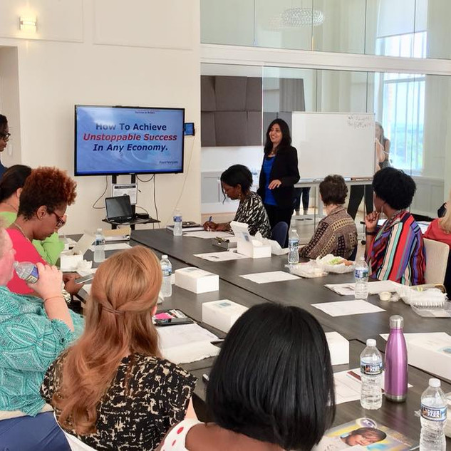 Workshop at the Women World Conference