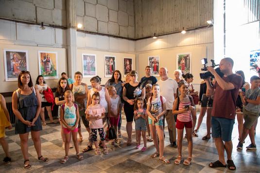 """Охрид, Македония - изложба на """"Българските корени"""""""