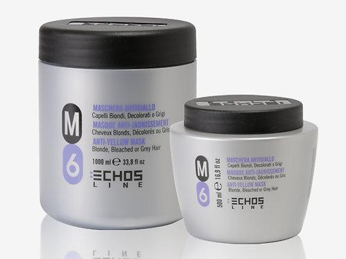 M6 ANTI-YELLOW MASK Маска против жълтеене за руси, обезцветени и сиви коси