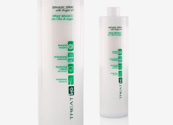 BIPHASIC SPRAY Двуфазен, хидратиращ и реструктуриращ спрей за коса