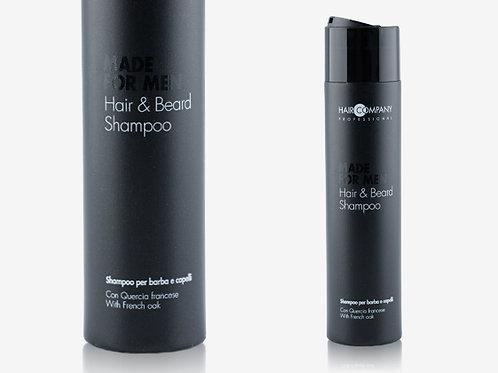 HAIR AND BEARD SHAMPOO