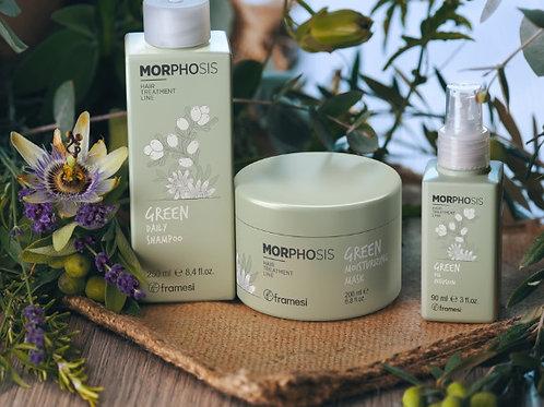 Framesi Morphosis Green Серия за натурална грижа и всеки тип коса