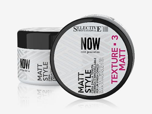 NOW NEXT GENERATION MATT STYLE Вакса за коса за меко фиксиране