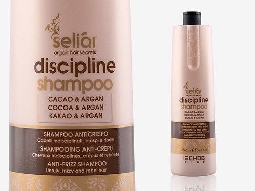 SELIAR DISCIPLINE SHAMPOO  CACAO & ARGAN Дисциплиниращ шампоан с какао и арган