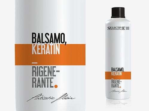 BALSAMO KERATIN RIGENERANTE Балсам с кератин, за суха и изтощена коса