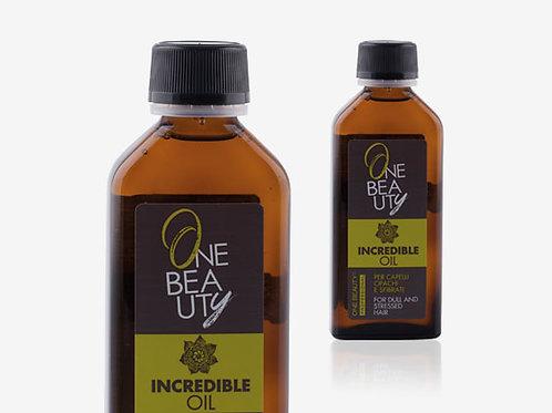 INCREDIBLE OIL Масло-терапия за безжизнена и изтощена коса