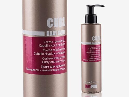 CURL REVIVING CREAM Oформящ крем за къдрава или чуплива коса
