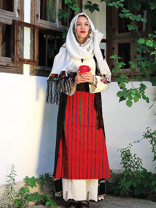 """Постер """"Невестинско облекло от селата Марково и Косово, Шуменско"""""""