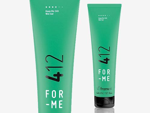 412 KEEP ME 24H WET GEL Гел за ''мокър'' ефект със силна фиксация