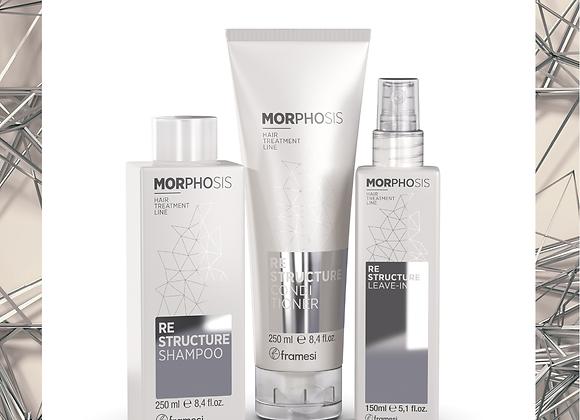 FRAMESI MORPHOSIS RE-STRUCTURE Серия за Възстановяване и регенериране на косата