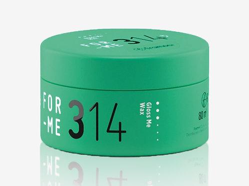314 GLOSS ME WAX Мултифункционална ремоделираща вакса полу-матова за коса